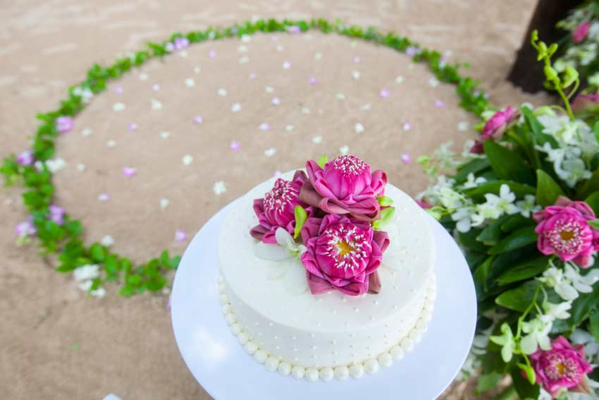 wedding Cake Khao Lak wedding