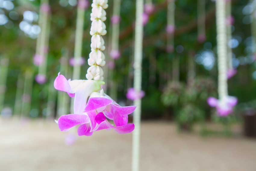 Wedding decoration Khao Lak