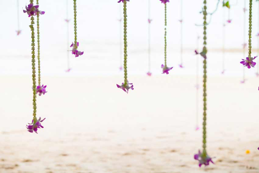 Weddinf set up Wedding khao Lak