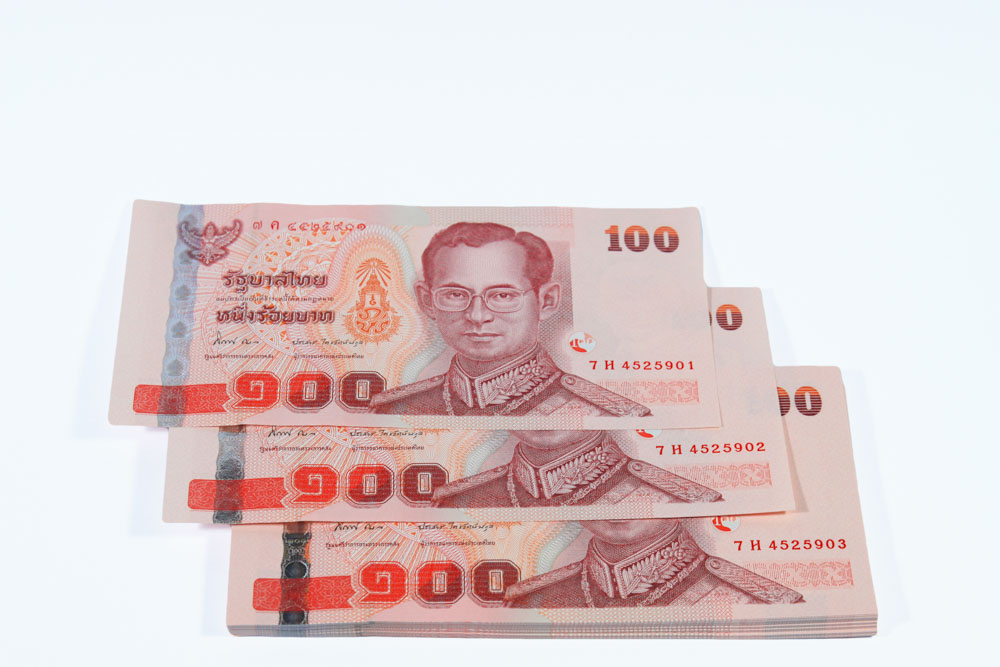 Hundred-baht bill / note