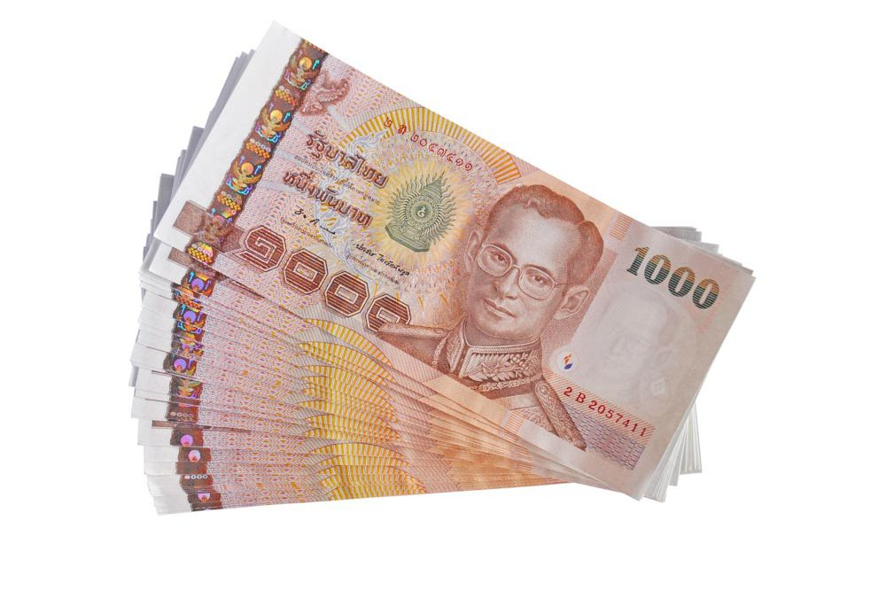 one-thousand-baht bill / note