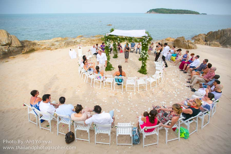 Wedding Guide Thailand Wedding At Nora Beach Resort Koh Samui.