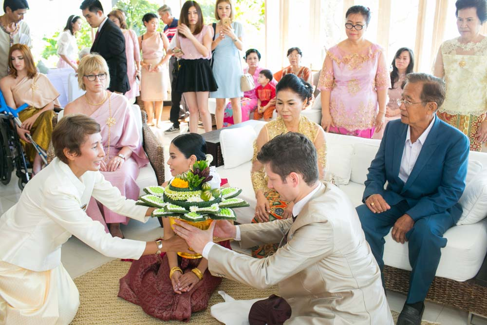Thailand wedding ceremony