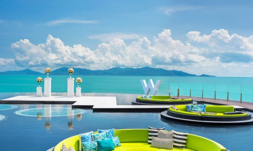 W Retreat Koh Samui in Thailand.